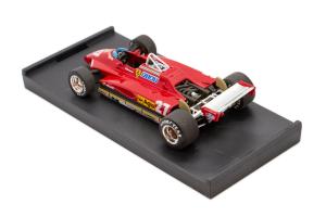 Ferrari 126 C2  San Marino Gp 1982 G. Villeneuve - 1/43 Brumm 100% Made In Italy