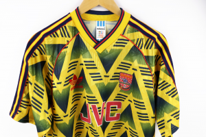 1991-93 Arsenal  Maglia Away L (Top)