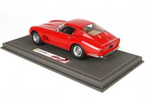 Ferrari 275 GTB4 1966 Red Aluminium Wire Wheels Ltd 250 Pcs With Case - 1/18 BBR