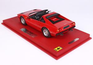 Ferrari 208 Gts Turbo 1983 Rosso Corsa 322 Ltd 120 Pcs - 1/18 BBR