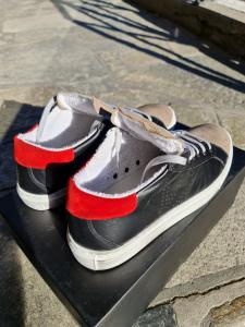 Scarpa v2 pelle nera