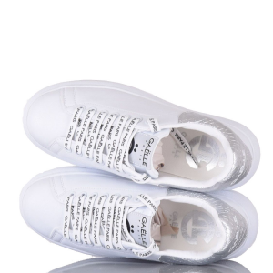 Sneakers Gaelle Paris GBDC2354 SILVER A.1