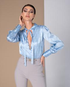 Camicia-Body Baby-Blue