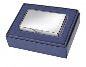 Porta foglietti in silver plated