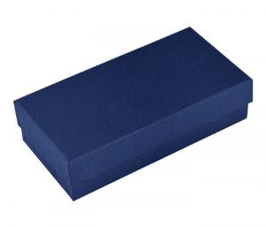 Scatola blu per portachiavi