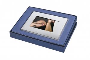 Portafoto foto in silver plated