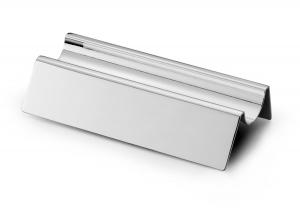 Supporto portapenne onda in silver plated