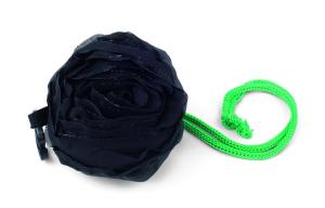 Shopping bag black rose