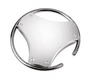 Portachiavi drive silver plated