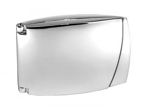 Orologio portafoto conchiglia silver plated
