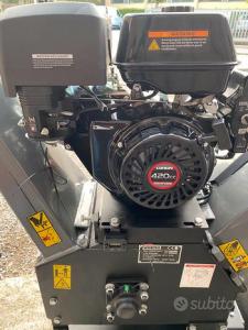 Biotrituratore cingolato WORTEX Tiger D420/120L-E