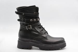 Novità A/I 2021 Exton Calzatura Donna-Vitello Nero MZ04