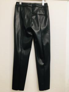 Pantalone donna| ecopelle nera | modello skinny |made in Italy