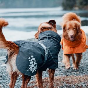 Giacca Monsoon coat per cani Nera