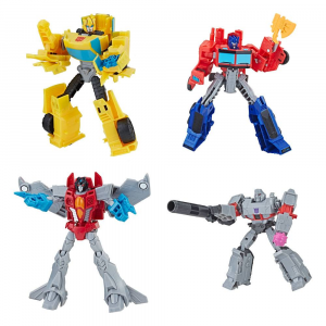 Transformers: BUZZWORTHY BUMBLEBEE 4 pack by Hasbro