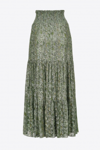SHOPPING ON LINE PINKO MAXI GONNA STAMPA RETTILE ROUEN NEW COLLECTION WOMEN'S FALL/WINTER 2022-2