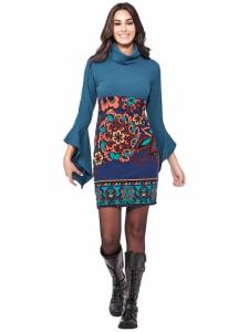Robe de style ethnique | Vêtements d'hiver pour femmes en ligne