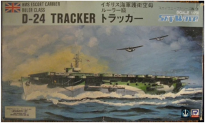 Ruler Class Escort Carrier HMS Tracker D-24