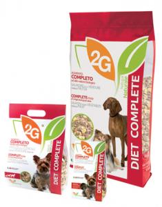 2G PET FOOD DIET COMPLETE - 350 G
