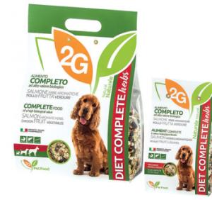 2G PET FOOD DIET COM HERBS - 350 G