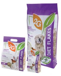 2G PET FOOD DIET FLAKES - 8 KG