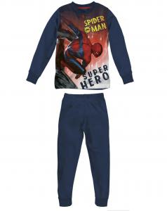 Pigiama Spiderman in caldo cotone da 3 a 7 anni