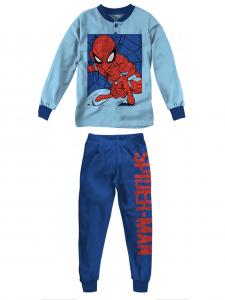 Pigiama Spiderman in felpa da 3 a 7 anni Inverno 2022