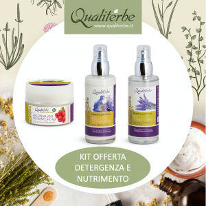 Kit Detergenza e Nutrimento Flowers and Fruits