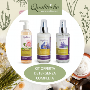 KIT Detergenza Completa Viso Flowers and Fruits