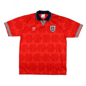 1990-92 Inghilterra Maglia  Away #5  L (Top)