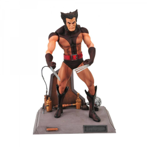 *PREORDER* Marvel Select: UNMASKED BROWN COSTUME WOLVERINE by Diamond Select