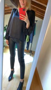 Pantalone tessuto spalmato Vicolo