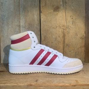 Scarpa Adidas Top Ten Bianca Gialla e Bordeaux