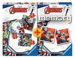 Avengers PUZZLE più MEMORY 20674 RAVENSBURGER
