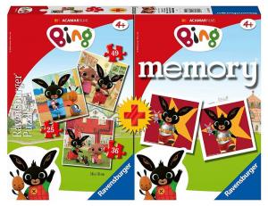 Bing PUZZLE più MEMORY 20675 RAVENSBURGER