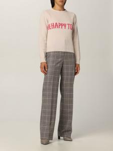 Maglioncino rosa  di lana  di Alberta Ferretti