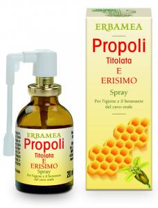 PROPOLI ERISIMO TITOLATA SPRAY