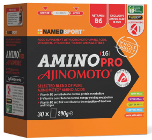 AMINO 16 PRO AJINOMOTO - 30 BUSTE