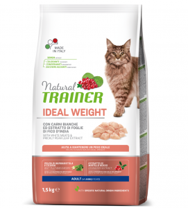 Trainer Natural Cat - Ideal Weight - 1.5 kg x 2 sacchi