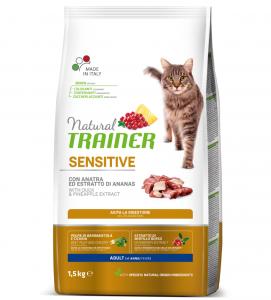 Trainer Natural Cat - Sensitive - 1.5 kg x 2 sacchi