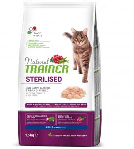 Trainer Natural Cat - Sterilizzato - 1.5 kg x 2 sacchi