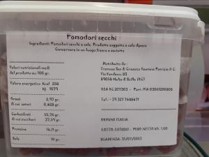 Pomodori Secchi della ditta Tremuse di Creazzo Gaetano Patrizia Melia di Scilla (RC)