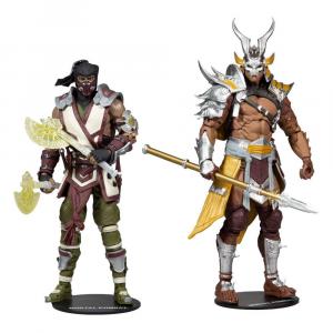 Mortal Kombat: 2-Pack SUB-ZERO & SHAO KAHN by McFarlane Toys