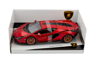 Lamborghini Sian Fkp 37 Red - 1/18 Burago