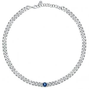 Chiara Ferragni Collana Chain, Groumette - Blue Crystal