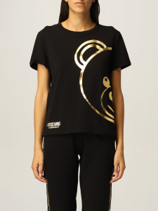 SHOPPING ON LINE MOSCHINO T-SHIRT IN COTONE CON TEDDY UNDERWEAR NEW COLLECTION FALL/WINTER 2022