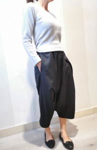 Pantaloni cavallo basso spigato