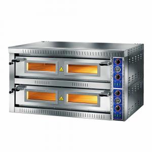 Forno Pizza Professionale SB66G - 6+6 x Ø 34 cm