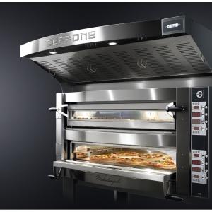 Forno Pizza Professionale Cuppone Michelangelo 6+6 x ø35 cm