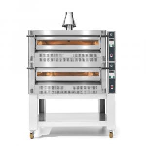 Forno Gas per Pizzeria sovrapponibile Cuppone 9 x ø30 cm